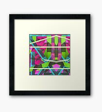 Abstract Rectangle  Framed Print