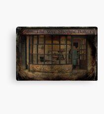 Ye Olde Bakers Shoppe Canvas Print