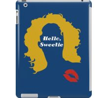 Doctor Who River Song Hello Sweetie  iPad Case/Skin