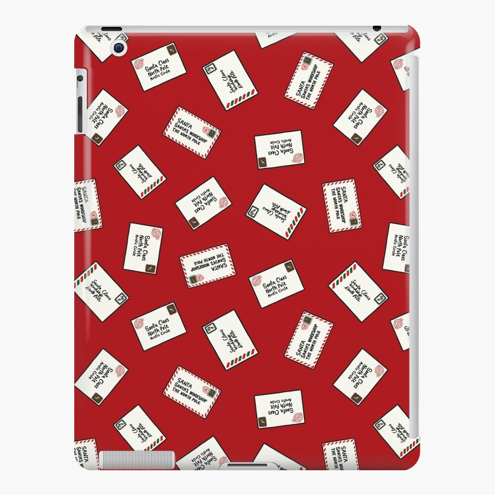 Letters to Santa iPad Snap Case