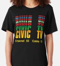 Camiseta ajustada TV cívica