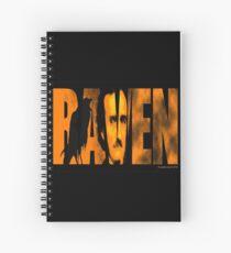 Edgar Allan Poe and The Raven Spiral Notebook