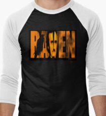 Edgar Allan Poe and The Raven Baseball ¾ Sleeve T-Shirt