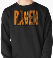 Edgar Allan Poe and The Raven Pullover Sweatshirt