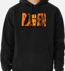 Edgar Allan Poe and The Raven Pullover Hoodie
