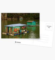 Floating Village Postcards