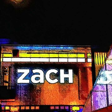 Zach Theatre under a Full Moon by LisaQuenon