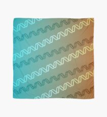 DNA stripe pattern Scarf