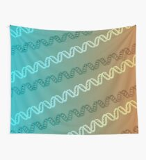 DNA stripe pattern Wall Tapestry