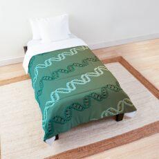 DNA stripe pattern Comforter
