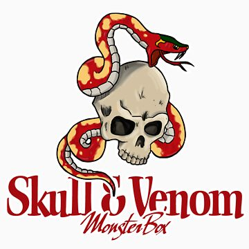 Skull & Venom by monsterbox