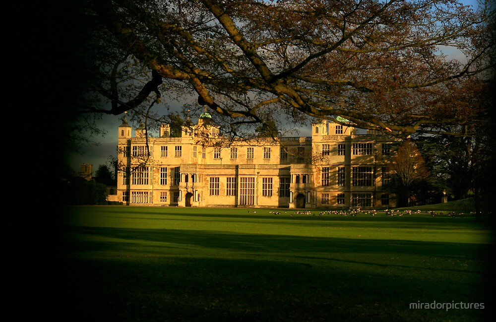 Audley End House, Essex On A Cold Winters Day by miradorpictures