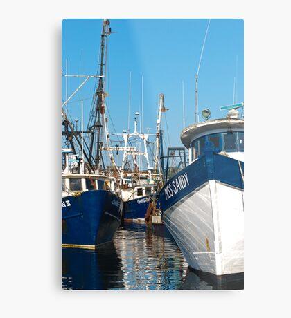 Three Trawlers Metal Print