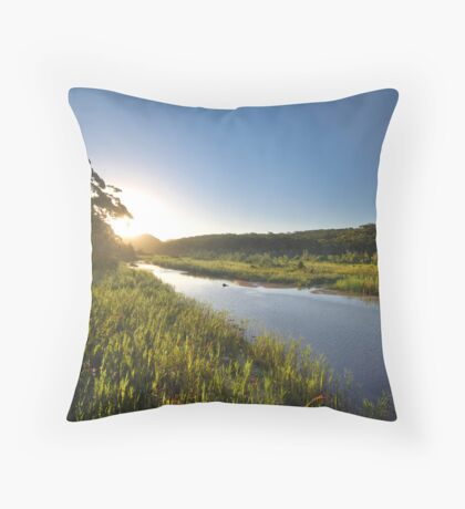 Thurra River - Croajingolong National Park Throw Pillow