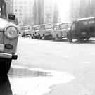 1984 - berlin east: trabies by Ursa Vogel