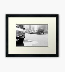 1984 - berlin east: trabies Framed Print