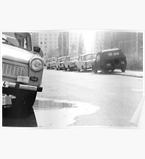 1984 - berlin east: trabies Poster