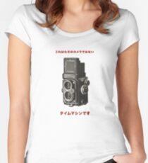 カメラ      ローライフレックス Women's Fitted Scoop T-Shirt