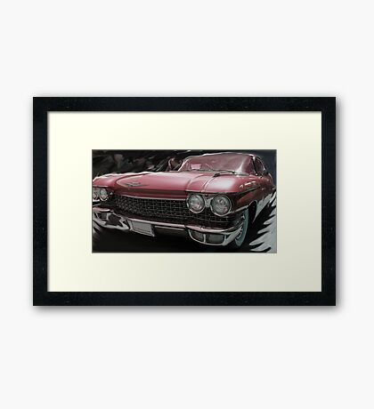 Hot Rider Framed Print
