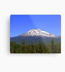 Mt Bachelor, Oregon Metal Print