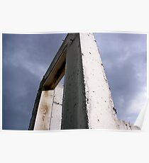 Cement Arch - Abandoned Building Poster