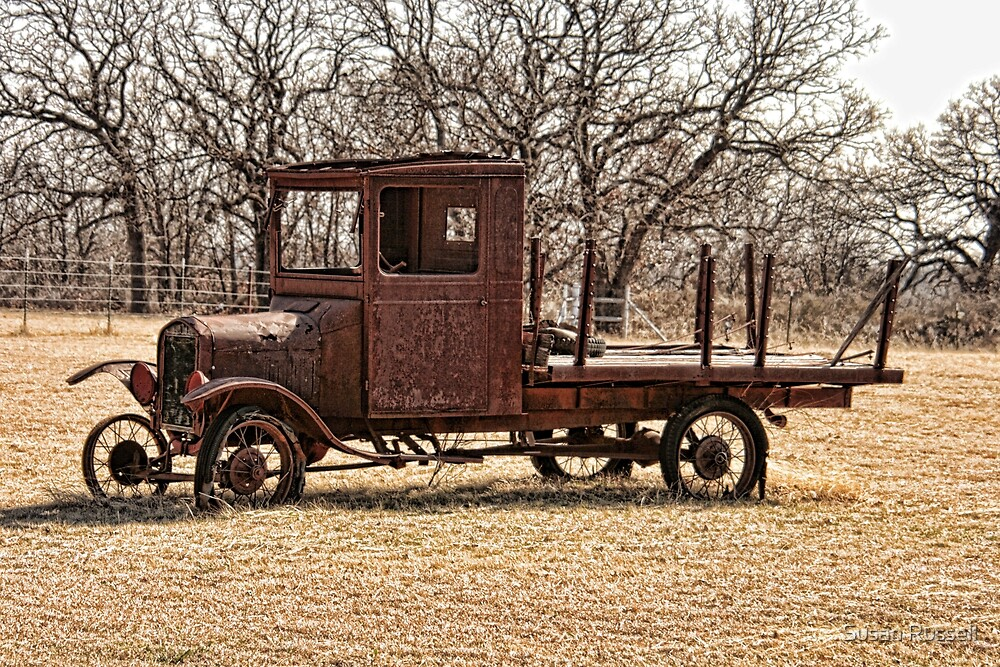An Old Rusty Truck\