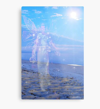 Angel Vision Metal Print