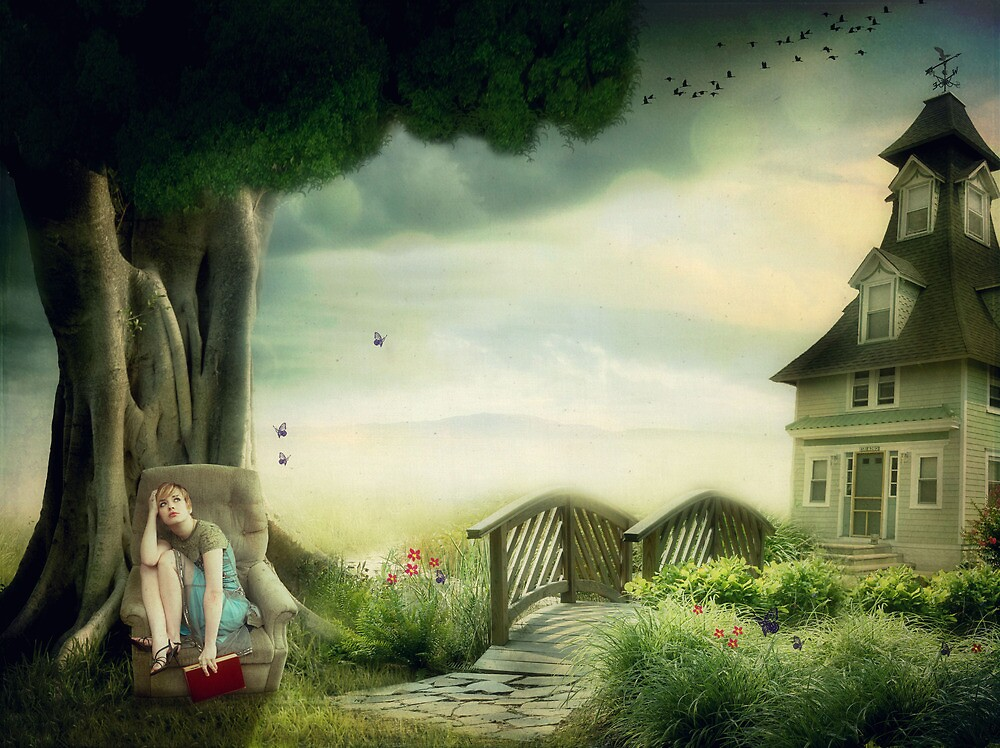 Daydreamer..... by Carol Knudsen