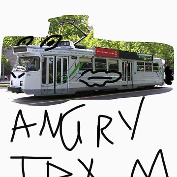 angry tram by loc123