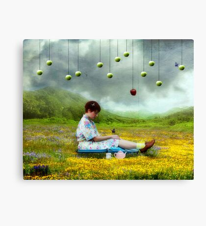 Apples From Heaven.... Canvas Print