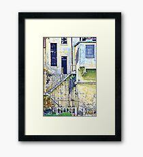 The Other Side of the City Framed Print