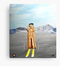 The Scream World Tour Skiing  Canvas Print