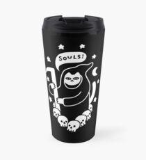Cat Searching For Souls Travel Mug