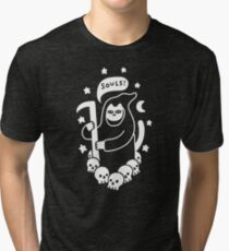 Cat Searching For Souls Tri-blend T-Shirt
