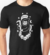 Cat Searching For Souls Slim Fit T-Shirt