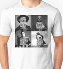 Horror Foursome Unisex T-Shirt