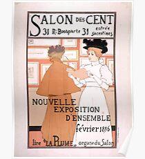 Armand Rassenfosse Salon affiche 2 Rassenfosse Poster
