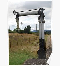 Steam Engine Water Filler Thingee  Poster