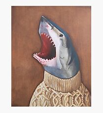 Shark in a Sweater Photographic Print