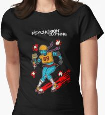 Psychoskin Rollergirl Women's Fitted T-Shirt