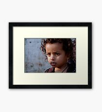 Child  Framed Print