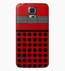 Not a robot. Red. Inspired by Daleks. Case/Skin for Samsung Galaxy