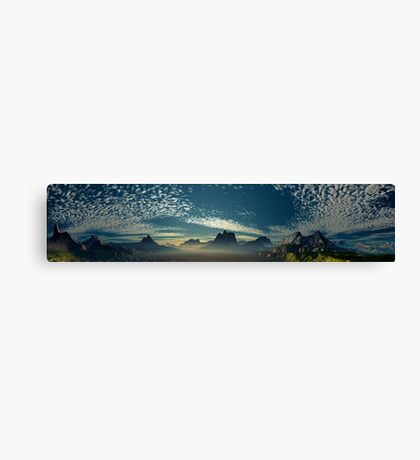 Orchestrated Sunrise  Canvas Print