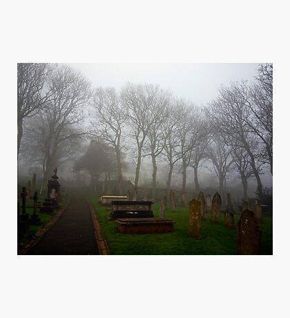 Alderney's Graveyard in the Fog Photographic Print