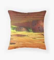 Glow in the Distance Throw Pillow