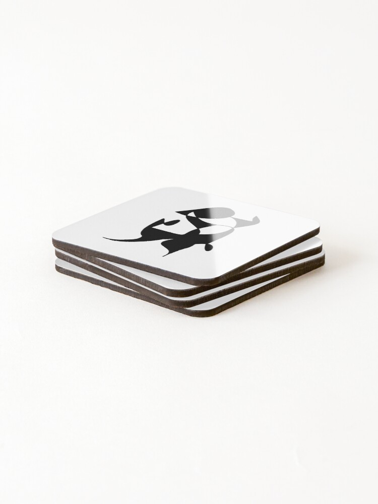 Alternate view of A Bull, Abstract (Designed by Just Stories) Coasters (Set of 4)