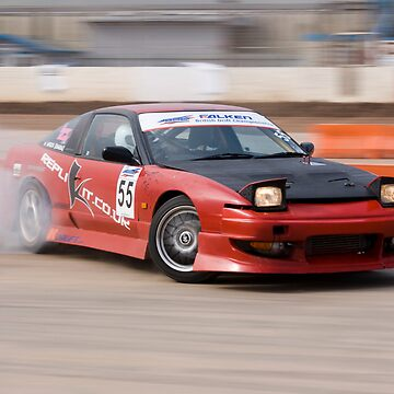 s13 drift car at Norfolk Arena - BDC 2008 by ManfootIN