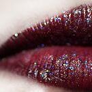 purple lips by weglet