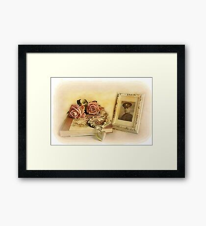 Memories . Framed Print