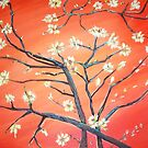 Almond Branch  by Mary Sedici